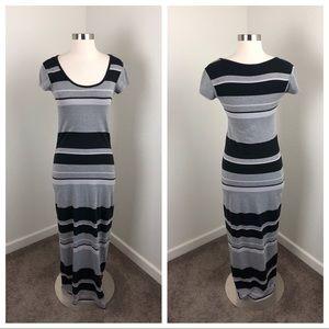 Sauci striped maxi dress